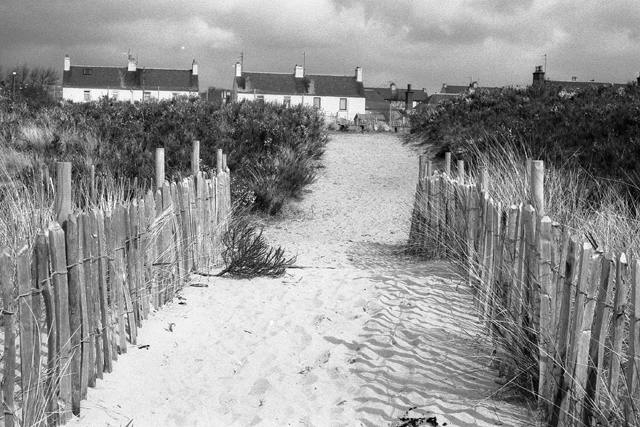 Cottages from Monifieth Sands