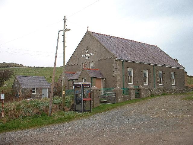 Chapel at Uwchmynydd