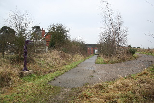 Harby Station, January 2006