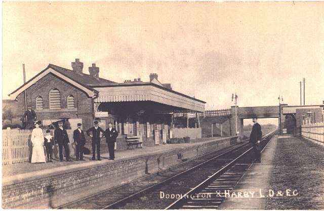 Harby Station c1920