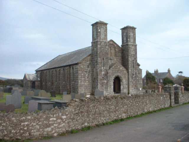 Aberdaron New Church at Bodernabwy