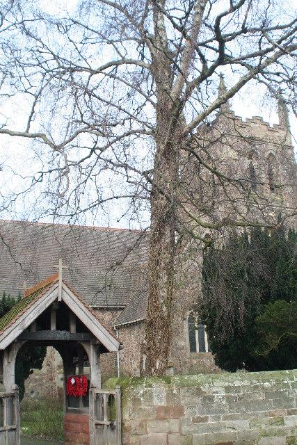 Church of St Mary de Wyche, Wychbold