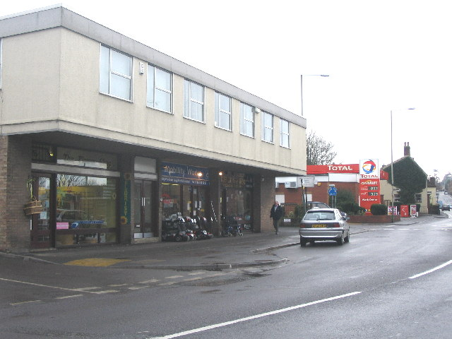 Warminster Road shops