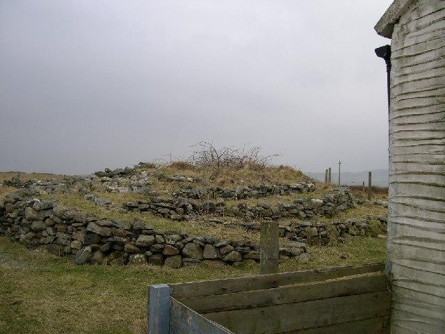 Unusual rock feature, Carnduncan, Isle of Islay