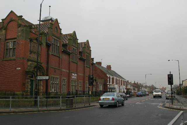 Welbeck Road and Walker Library