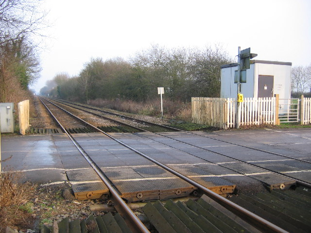 Nether Lane Crossing, Nafferton