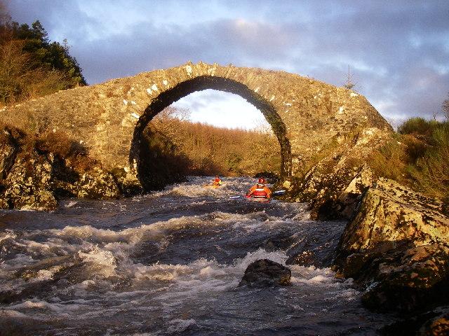 Old Bridge of Minnoch, River Minnoch