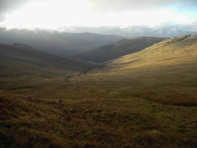 Coire Aodainn from descent of Beinn Bheula, 14 Jan 06