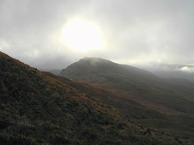 Beinn Dubhain from Coire Aodainn, 14 Jan 06