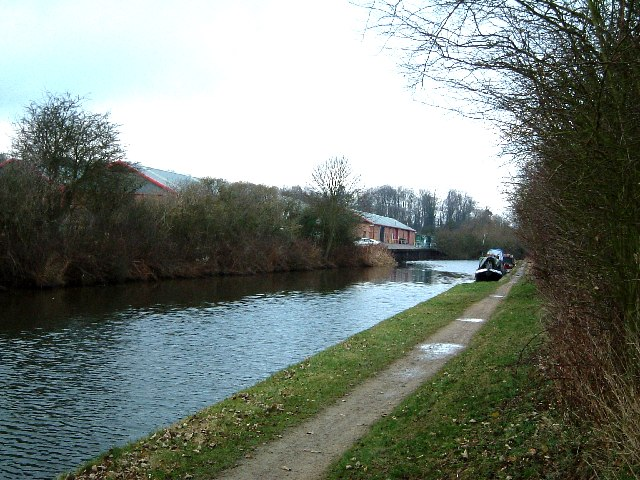 Canal, Wharf, Warehouses and Narrowboats, New Ground