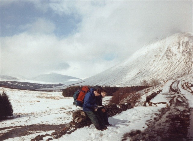 West Highland Way below Beinn Odhair
