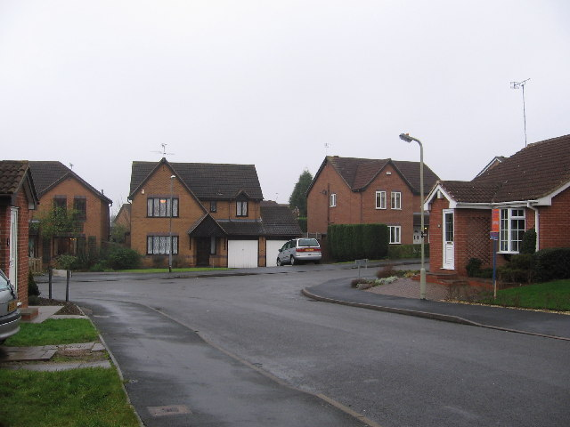 Housing, Oak Meadow Lane, Groby