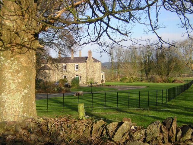 Neuadd Lwyd (Grey Hall), the old vicarage, Penmynydd.