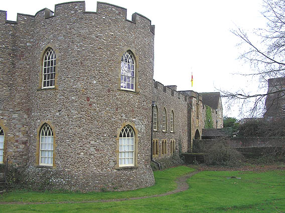 Taunton Castle, now County Museum