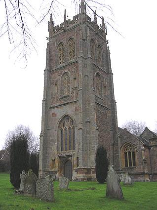 Kingston St. Mary church tower