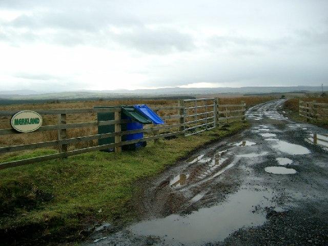 Merkland farm road end