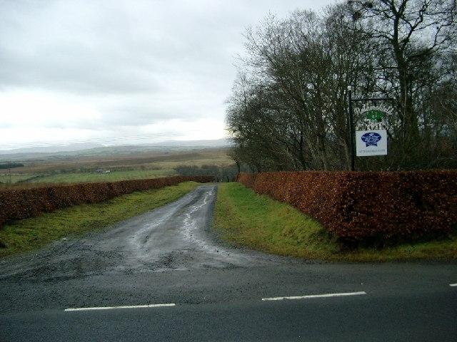 Nethershield farm road end