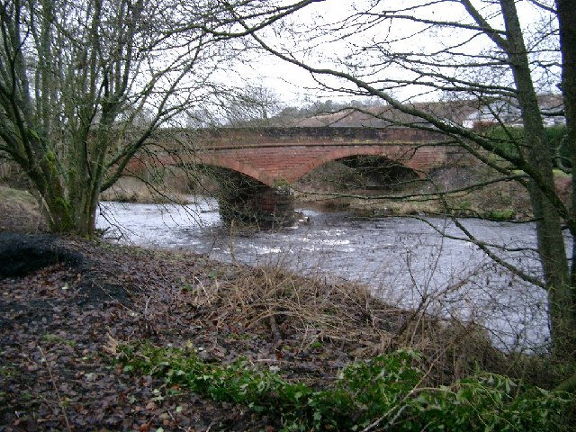 Sorn bridge over the river Ayr