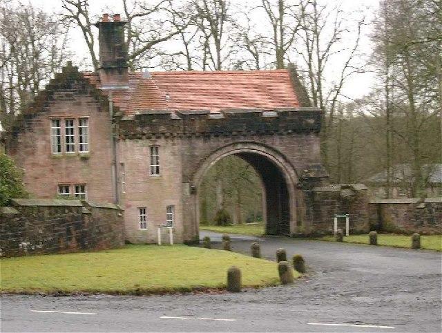 Sorn Castle gatehouse