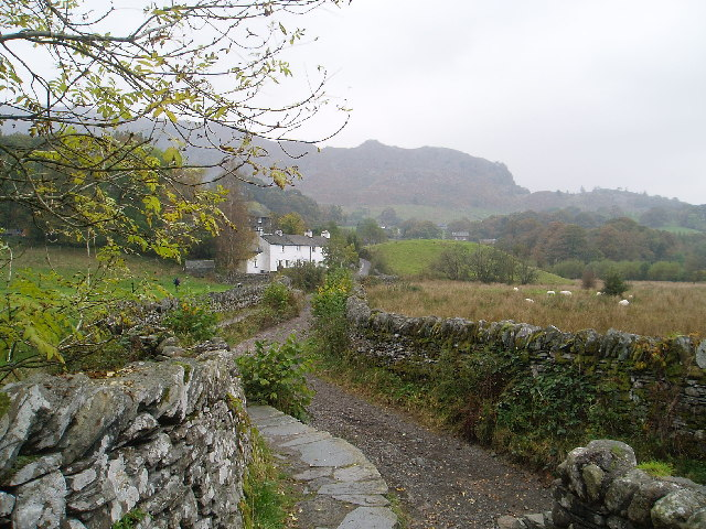 Track to Little Langdale