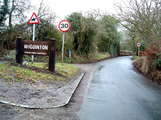 Wigginton starts here ! - Hemp Lane