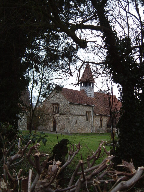 St. Bartholomew's, Wigginton through the hedge