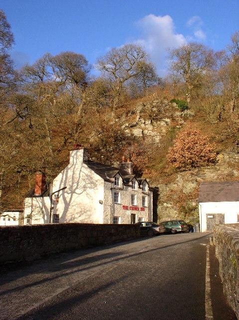 The Crown Inn at Llanfihangel Glyn Myfyr