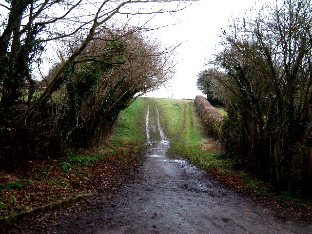 Muddy lanes, Wigginton Bottom