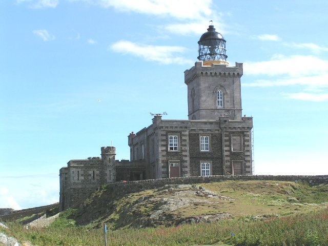 The Main Light on the Isle of May