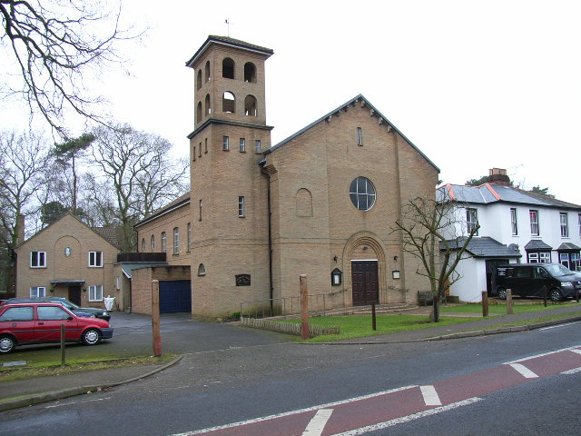 The Catholic Church of the Holy Ghost, Crowthorne