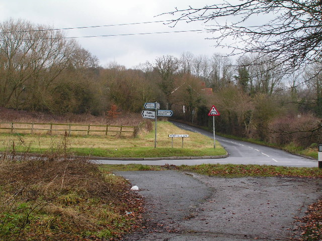 Crossroads near South Nutfield