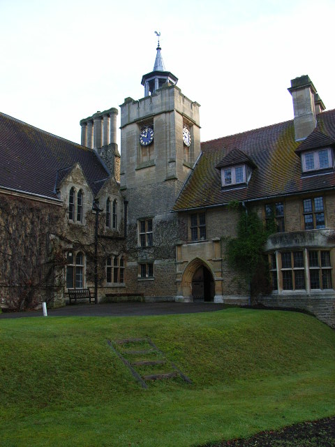 The church, Ascot Priory