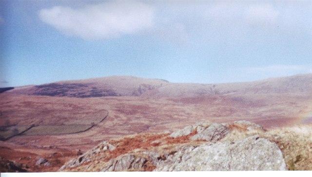 Looking West Eskdale Fell