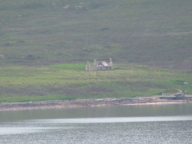 Ruined house on the Island of Scalpay