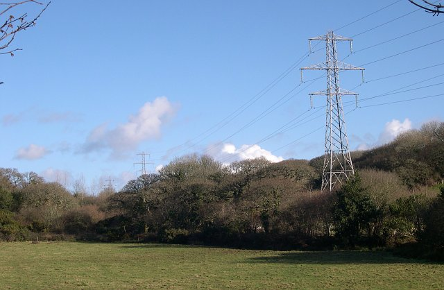 Pylons along the Valley