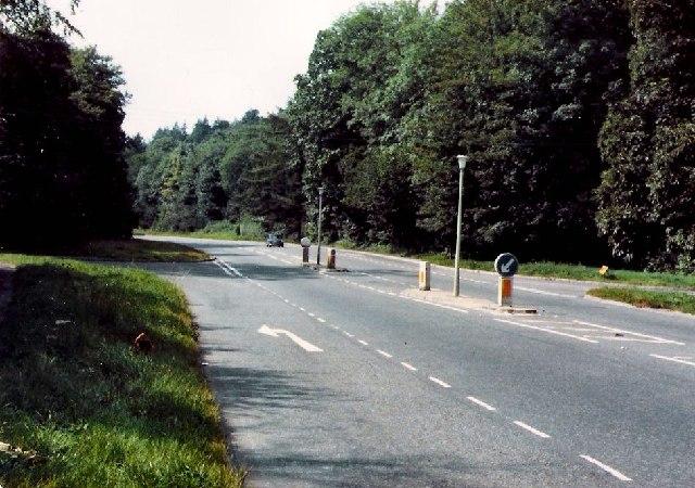 Sevenoaks Road at Ightham