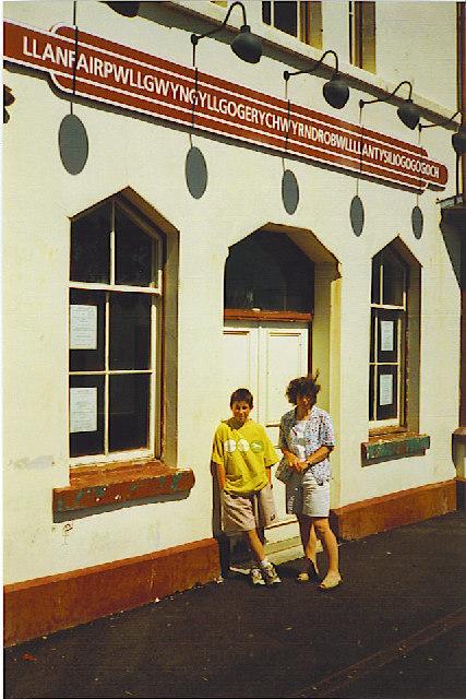 LlanfairPG Railway Station