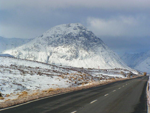 Stob Dearg from the A82