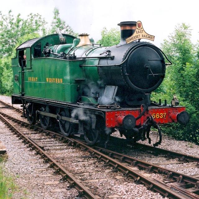 Steam locomotive on the East Somerset Railway