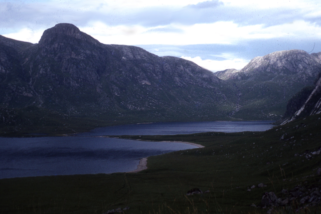 Fionn Loch and Dubh Loch, Letterewe Forest