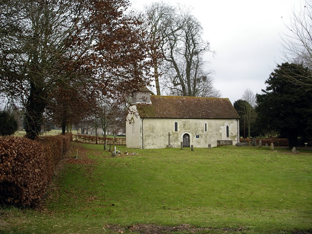 All Saints church, Little Somborne