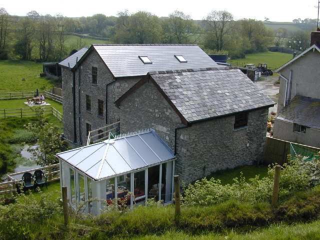 Mill converted into holiday lets