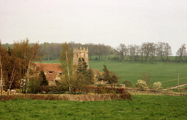 Lillington: church and hamlet