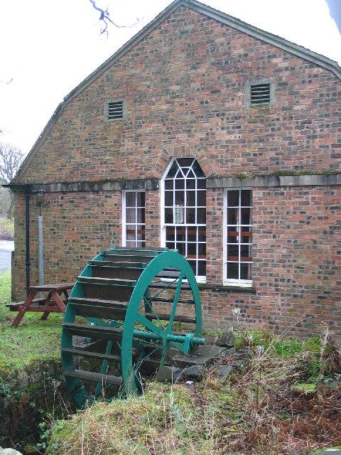 Mill Wheel, Carradale.