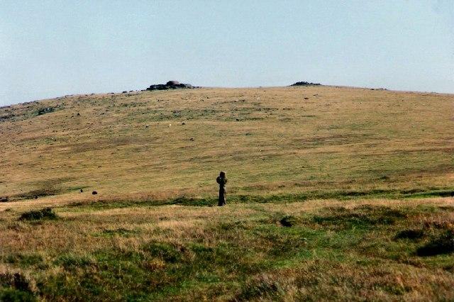 Piles Hill on Dartmoor