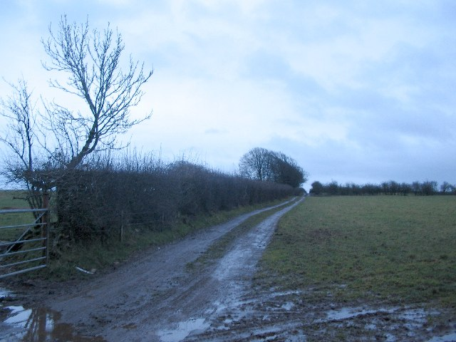 Public Footpath on Niver Hill