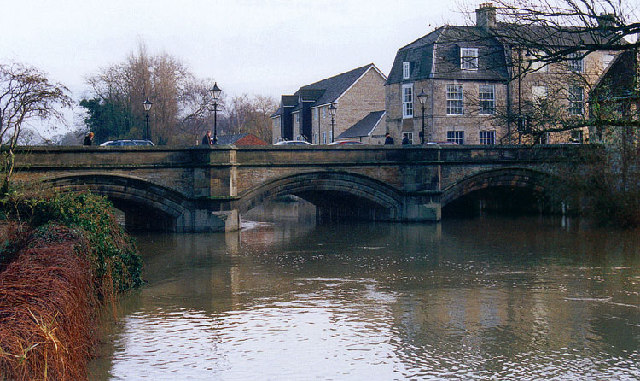 Bridge over the River Welland at Stamford