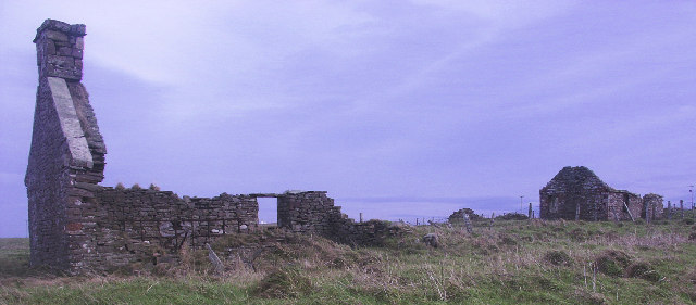 Ruined crofthouses, Duncansby, Caithness