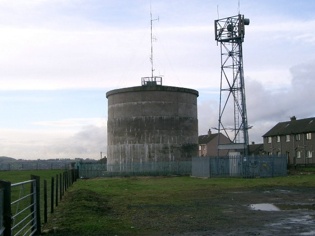 Water Tank and Mobile Phone Mast