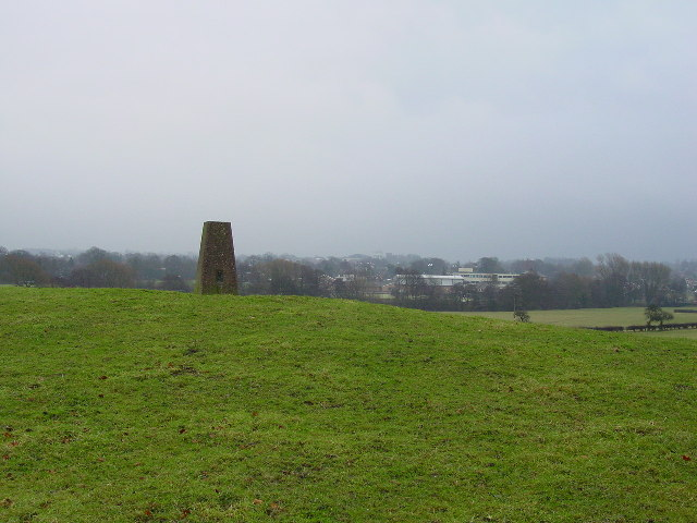 Trig point off Sandy Lane, Congleton